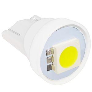 LED light bulbs T10 wedge-C white without base 1 LED SMD 5050, 6300K 12V (1pc.) Packing 100 pcs.