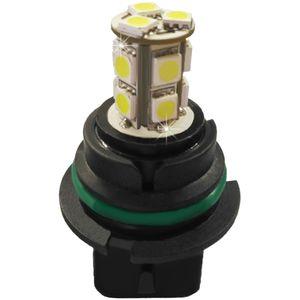 LED lamps 9004/9007-C white with a base 18 SMD 5050 LED 12V (1pc.) L1901