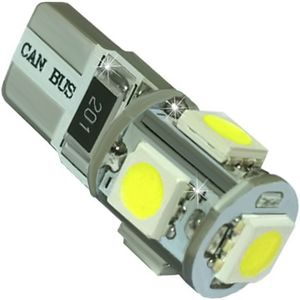 LED light bulbs T10wedge-CB BMB, EURO white without a base, without corp. 5 LED SMD 5050 23 lm Error F