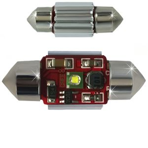 LED light bulbs T11x31-CB Canbus white 1 LED 5W SMD CREE 1x5W, 6300K 12x31cm 12V (1pc.)
