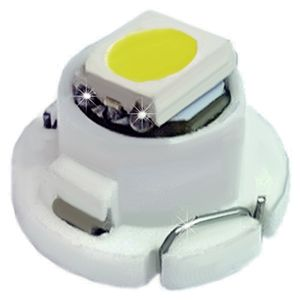 LED light bulbs T4.7-C white without a base, in the panel 1 LED SMD 5050, d-7.5 12V (1pc.)