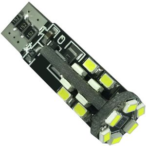 LED light bulbs T10 wedge-CB Canbus white without zinc, without cores. 22 LED SMD 3020 6300K