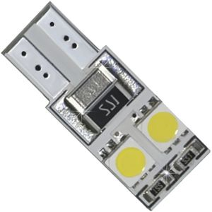 LED light bulbs T10wedge-CB white without a base, without corp. 4 LED SMD 5050, 2-st. 4 + 4 28x13cm 12V