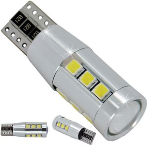 LED light bulbs T10 wedge-15HP-C white without base 15 SMD 2323 LED 15x1W 15W d-10mm 12-30V