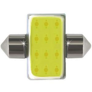 LED light bulbs T11x31-C HP1 white W HP COB Matrix 23x31 12-CHIP V2 12V (1pc.)