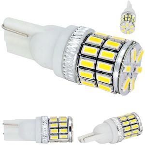 LED light bulbs T10 wedge-C2 white b / c 30 LED 3014 6300K 660 lm 0.22A BI +/- 12-30V (1pc.) V3