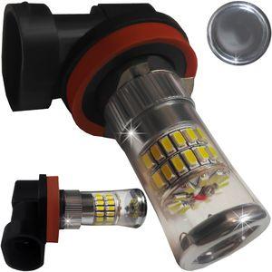 LED Light Bulbs H8 48 LED 3014 White with Base CANBUS 14W 1500 lm 0.65A 12-24V BI +/- V3