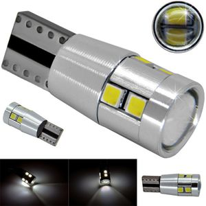 LED light bulbs T10 wedge-10HP-C white without base 10 SMD 2323 LED 10x1W 10W CANBUS d-10mm 12V