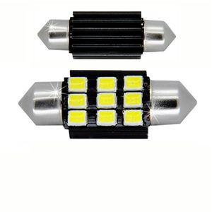 LED light bulbs T11x31 white 9 LED 2835 SMD 4,5W 9x0,5W CANBUS 330 lm 0.15A 12V V3