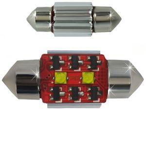 LED Light Bulbs T11x31-CB Canbus White 2 LED 10W SMD CREE 6IC 2x5W 12x31cm 240 lm 0.26A 12V V4