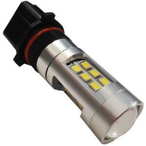 LED Light Bulbs P13W PSX26-C 21 LED 3030 LENS бел. 21W 1260 lm 0.6A 12-24V V3
