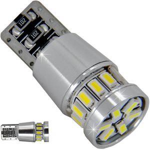 LED light bulbs T10 wedge-CB Canbus white without zinc, without cores. 3 LED 15W 3x5W LED CREE 12V V4