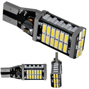 LED light bulbs T15 wedge-CB Canbus white without base 30 LED 4014 SMD HI LM IC, 6300K 12V (1pc.)