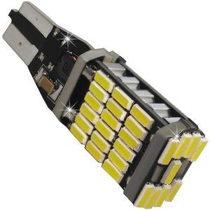 LED light bulbs T15 wedge-CB Canbus white without base 45 LED 4014 SMD HI LM SM IC, 6300K 12-30V