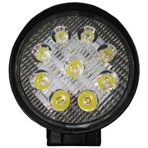"""Headlamp fog-resistant LT-55346 """"OFF-ROAD"""" 9LED, 30 '27W Spot ex. Light, aluminum. White 115 * 115 * 35"""