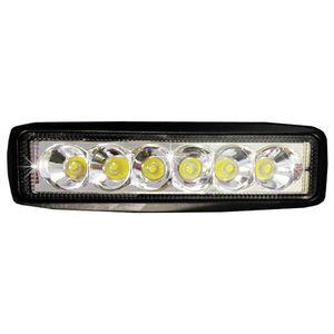 """Headlamp fog-resistant LT-55349 """"OFF-ROAD"""" 6LED, 30 '18W Spot ex. Light, aluminum. White 160 * 45 * 55"""
