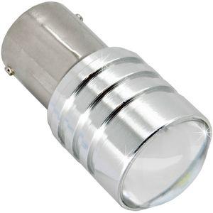 LED light bulbs T25-C BA15S HP1 white with base 1 contact. 5W HP 1 LED x 5W CREE 12V (1pc V3)