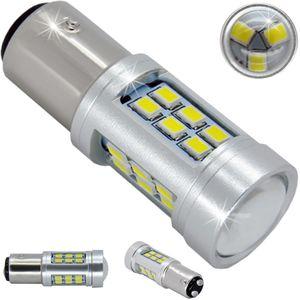 LED light bulbs T25-C BAY15D 21 LED 3030 white S / c 2k 21W 1650/580 lm 0.68 / 0.116A 12V V3