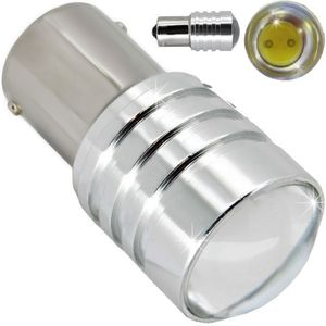 LED light bulbs T25-C BA15S HP1 white with base 1 contact. 5W HP BIG V3 1 LED x 5W 12V (1pc.)