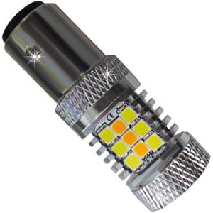 LED light bulbs T25-C BA15S 1156 HP28 b / c c / c 1k 28W 28 LED 3030 CAN 50W 1100/980 lm 0.5A V3